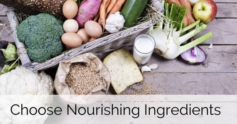 Choose More Nourishing Ingredients - www.ohlardy.com