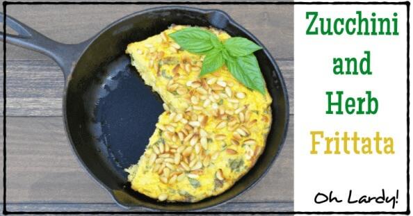 Zucchini and Herb Frittata - www.ohlardy.com