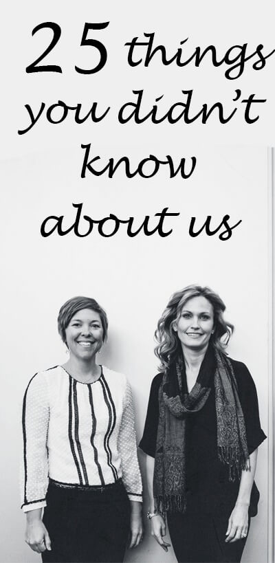 25 things you didn't know about us - www.ohlardy.com