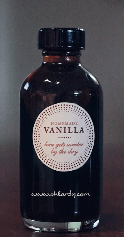 Homemade vanilla extract - ohlardy.com
