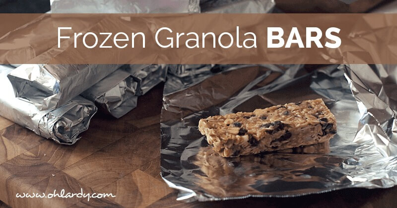 frozen granola bars - ohlardy.com