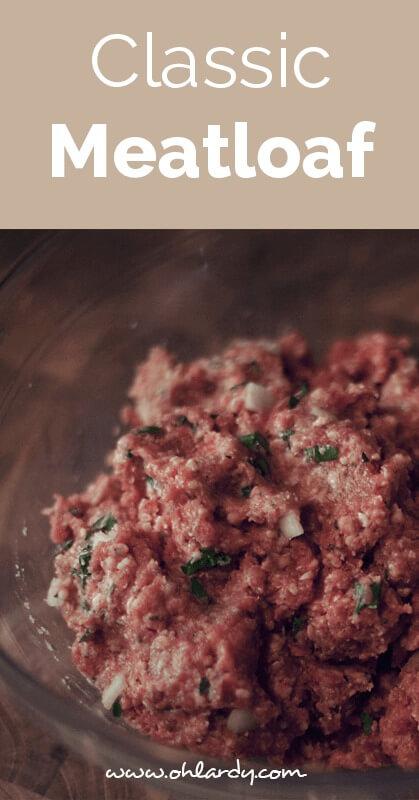 classic meatloaf - ohlardy.com