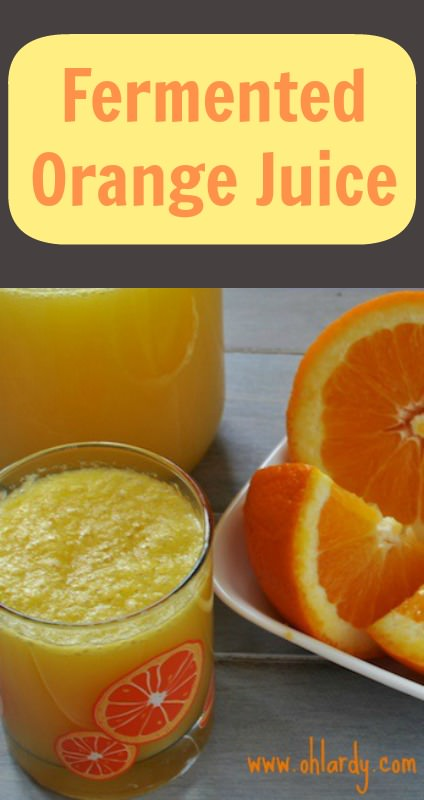 Fermented Orange Juice - www.ohlardy.com