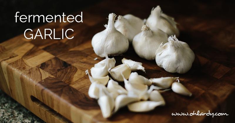 fermented garlic - ohlardy.com