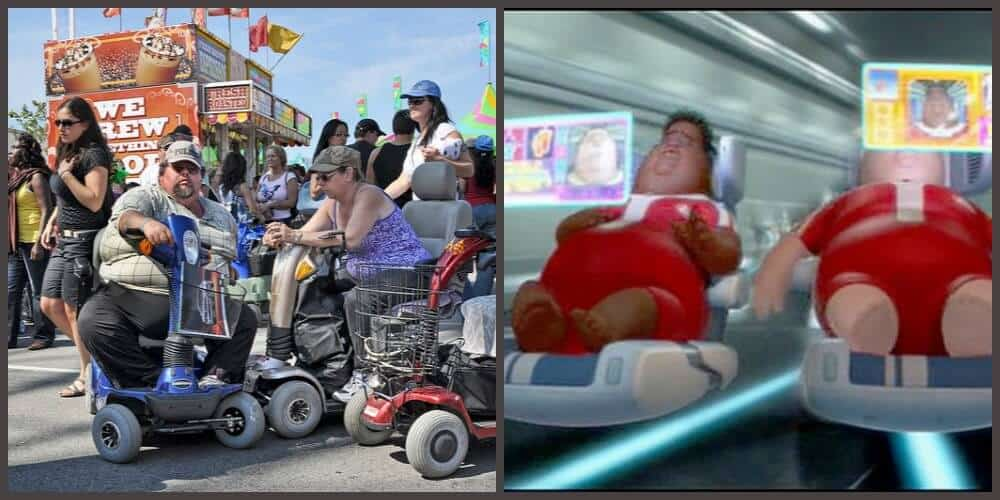 Mobility Scooters, obesity and Wall E...the state of our ...