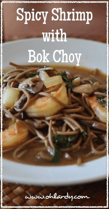 Spicy Shrimp with Bok Choy - www.ohlardy.com