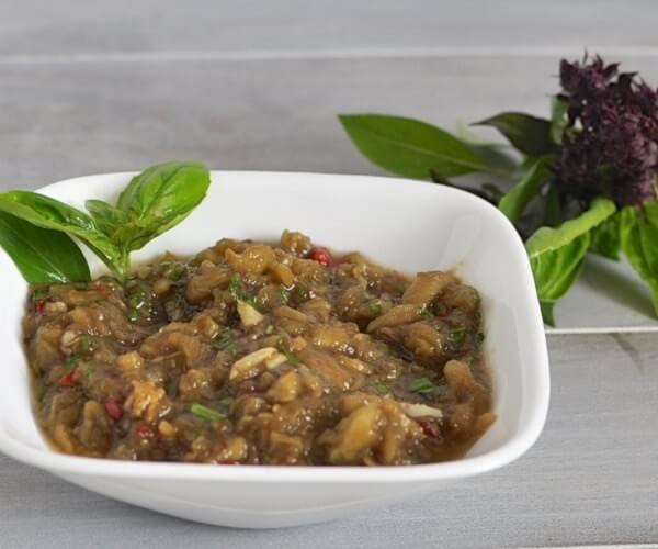 Spicy Thai Style Eggplant - www.ohlardy.com
