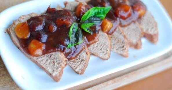Ginger Cranberry Pork