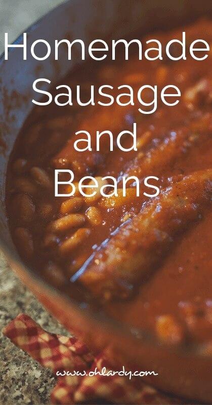 Sausage and Beans - ohlardy.com