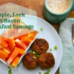 Apple, Leek and Bacon Sausage - www.ohlardy.com