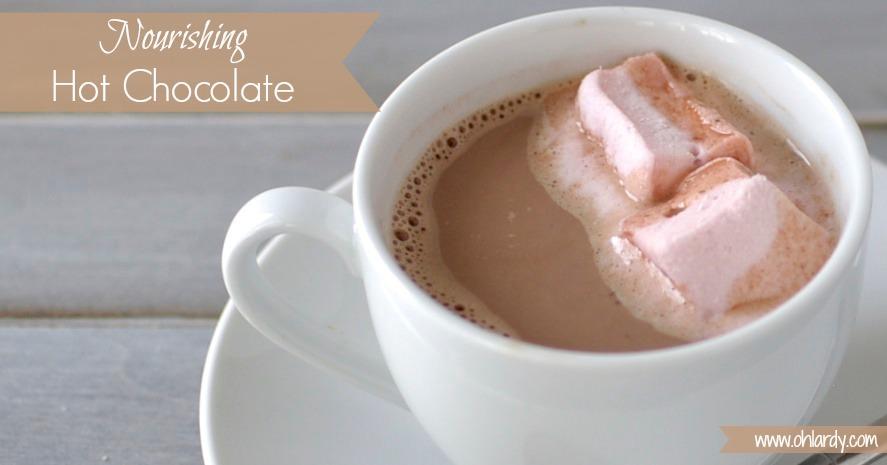 Nourishing Hot Chocolate with Superfoods - www.ohlardy.com 7