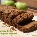 Gluten Free Apple Spice Bread - www.ohlardy.com