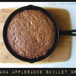 Banana Applesauce Skillet Bread - www.ohlardy.com