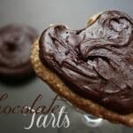 Raw, Vegan Chocolate Tarts - www.ohlardy.com