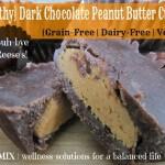 Dark Chocolate Peanut Butter Cups - www.ohlardy.com