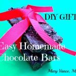 Easy Homemade Chocolate Bar - www.ohlardy.com