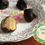 Dark Chocolate Maple Cream Truffles - www.ohlardy.com