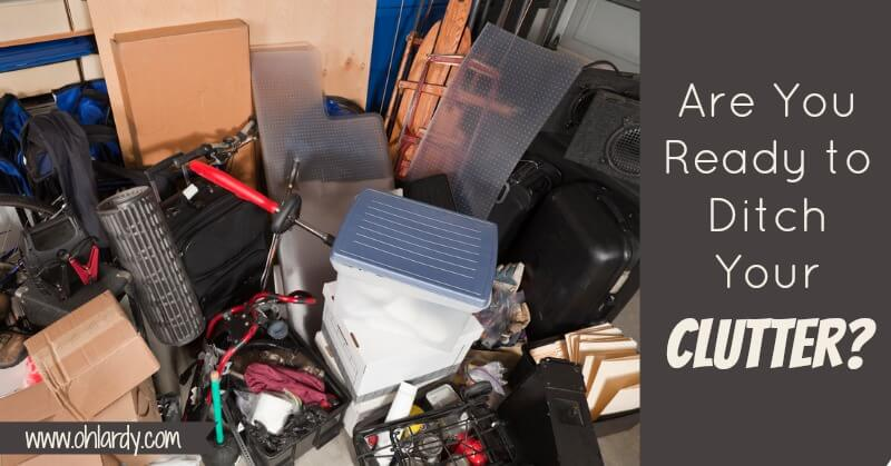 Get Clutter Free with the Clutter Trap - www.ohlardy.com