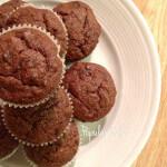 Banana Brownie Cupcakes - www.ohlardy.com