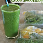 Make Ahead Green Smoothies - www.ohlardy.com