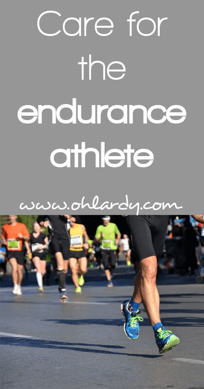 How to Care for Your Body if You Endurance Train - www.ohlardy.com