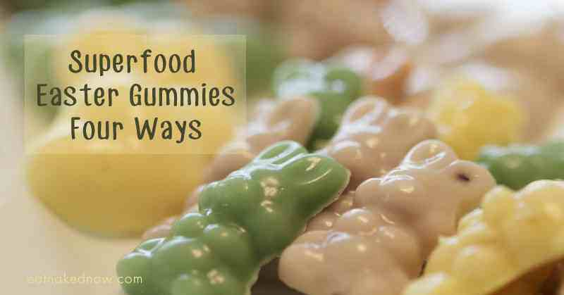 Homemade Easter Gummies with Real Ingredients
