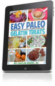Easy Paleo Gelatin Treats