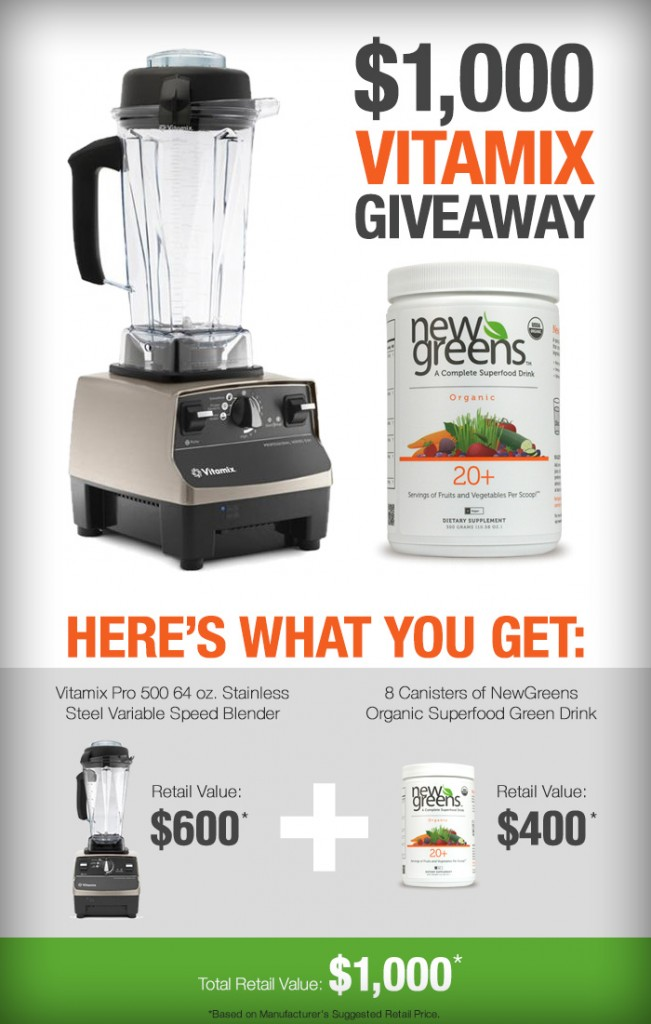 Vitamix Giveaway - www.ohlardy.com