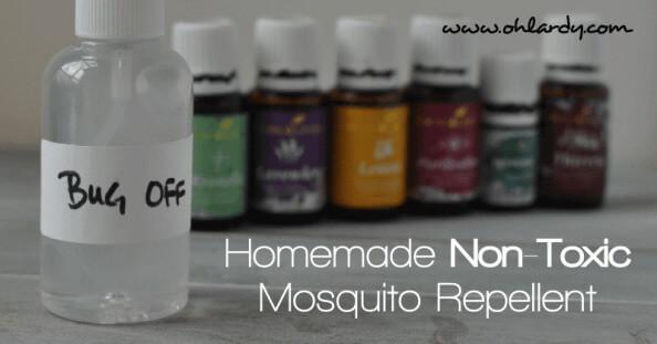 Homemade Non-Toxic Mosquito Repellent
