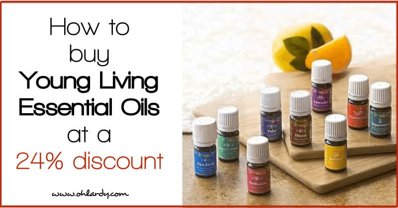 How to Buy Young Living Essential Oils at a 24% Discount