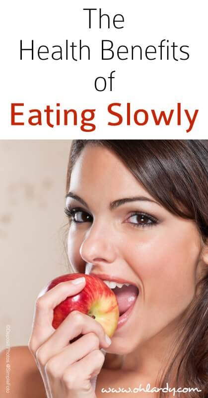 The Health Benefits of Eating Slowly