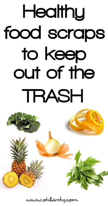 Healthy Food Scraps - www.ohlardy.com