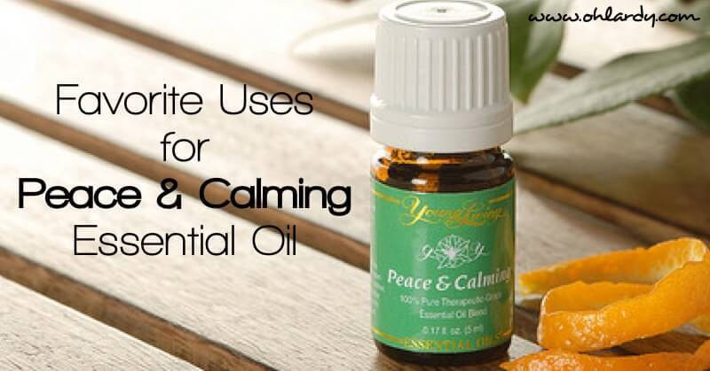 Uses for Peace and Calming Essential Oil