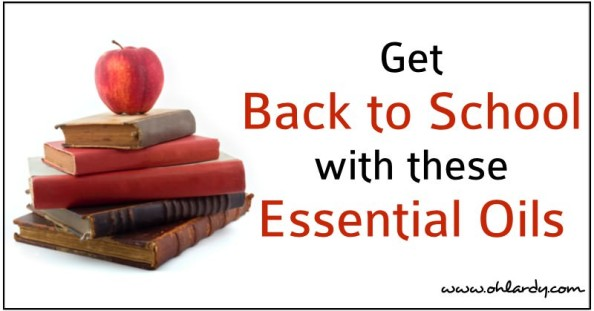 Get Back to School with These Essential OIls