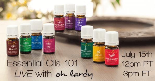 essential oils live