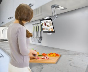 iPad Kitchen Mount