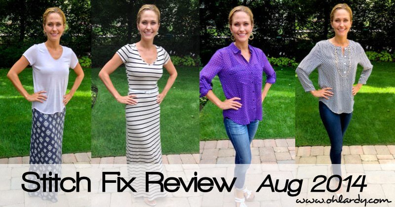 Stitch Fix Review August 2014 - www.ohlardy.com