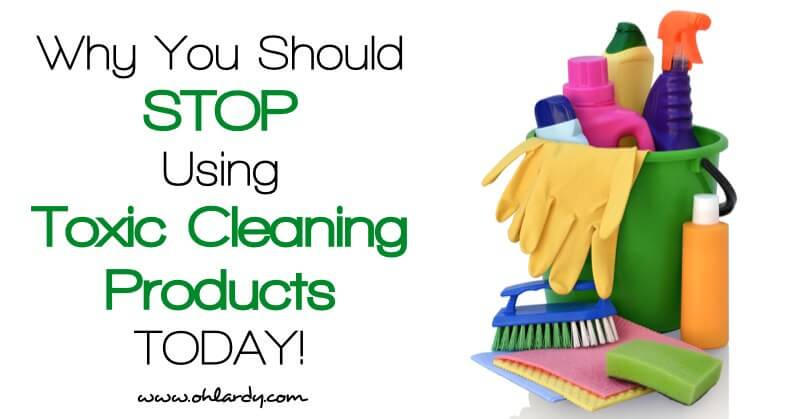 8 Reasons You Should Stop Using Toxic Cleaning Products Right Now!