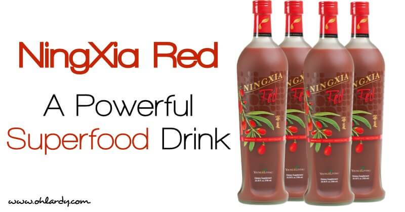 NingXia Red - a powerful superfood drink!
