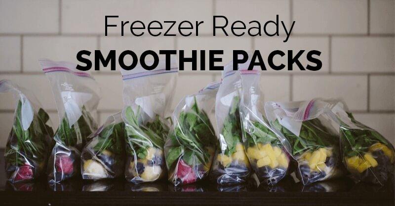Freezer Packs for your Smoothie Recipes - ohlardy.com