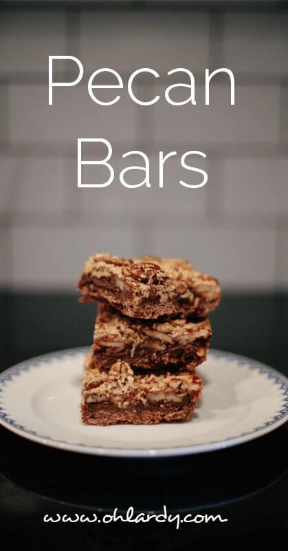 Pecan Bars - ohlardy.com