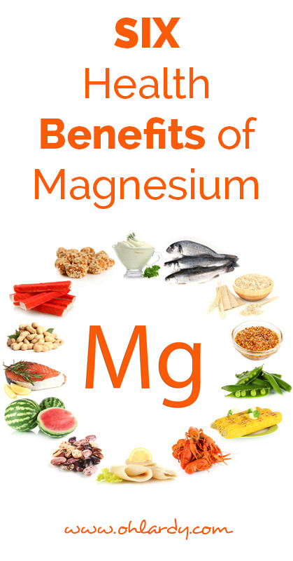 Six benefits of Magnesium - ohlardy.com