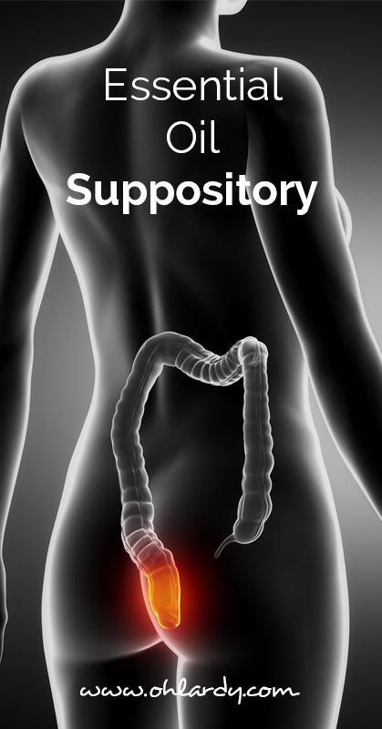 Essential oil suppository - ohlardy.com