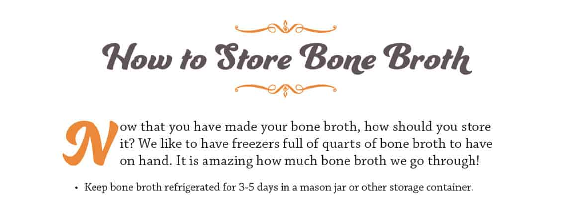 Oh Lardy's Guide to Cooking Bone Broth