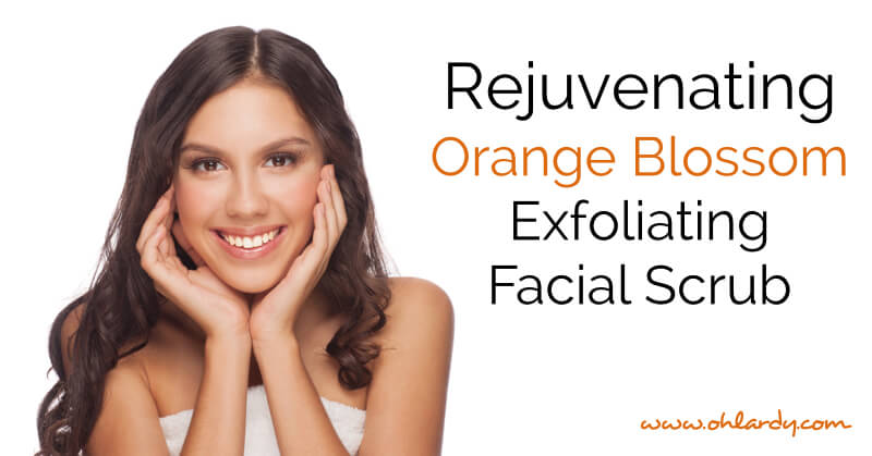 Rejuvenating Orange Blossom Exfoliating Facial Scrub