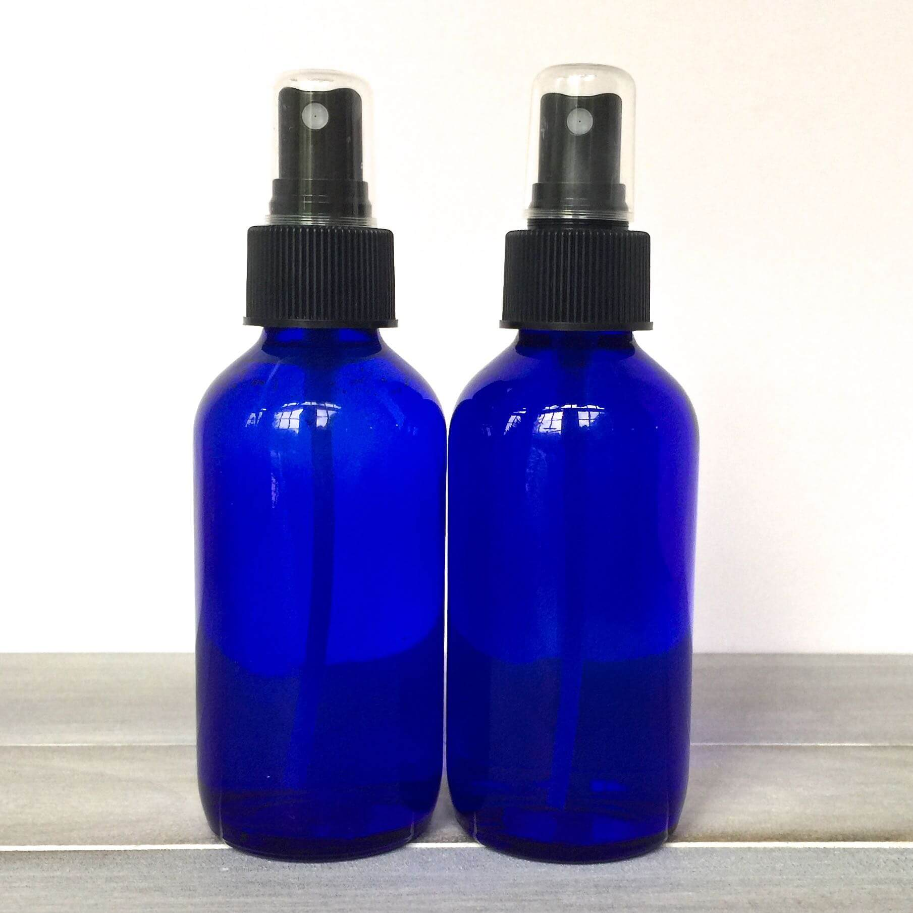 DIY Cool and Refresh Spray - 10% Discount for 4 Ounce Blue Spray Bottles