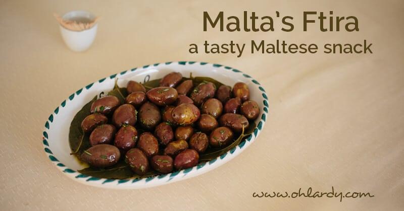 Malta's Ftira - ohlardy.com