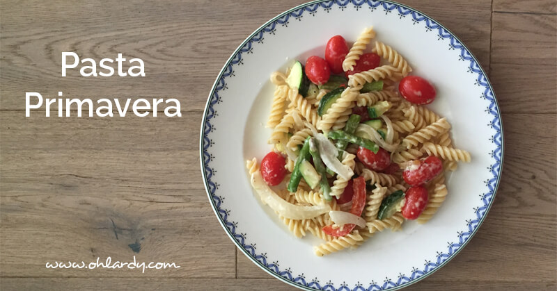 Pasta Primavera Recipe - ohlardy.com
