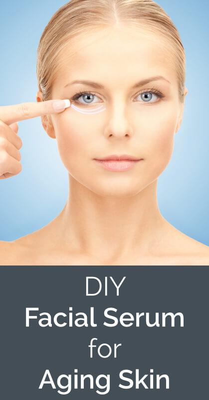 Non-Toxic Homemade Facial Serum for Aging Skin - www.ohlardy.com