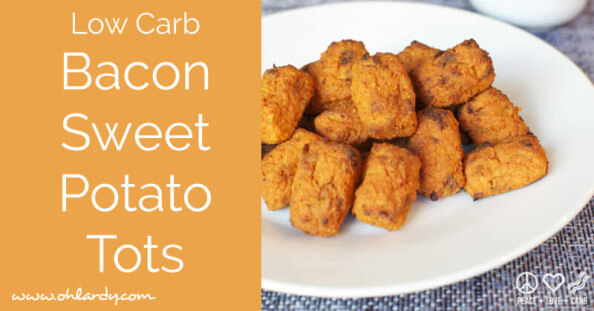 Bacon Sweet Potato Tots - www.ohlardy.com